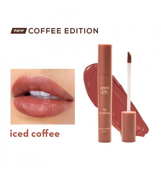 HAPPY SKIN LIP MALLOW MOUSSE - ICED COFFEE