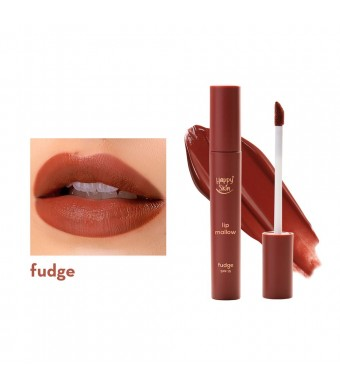 HAPPY SKIN LIP MALLOW MOUSSE - FUDGE