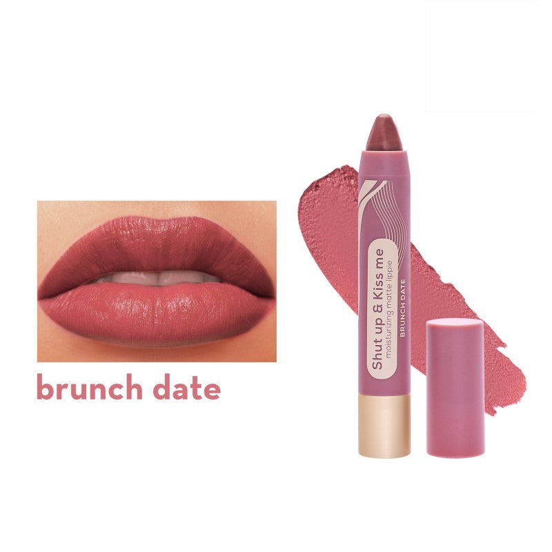 SHUT UP & KISS ME MOISTURIZING MATTE LIPPIE BRUNCH DATE