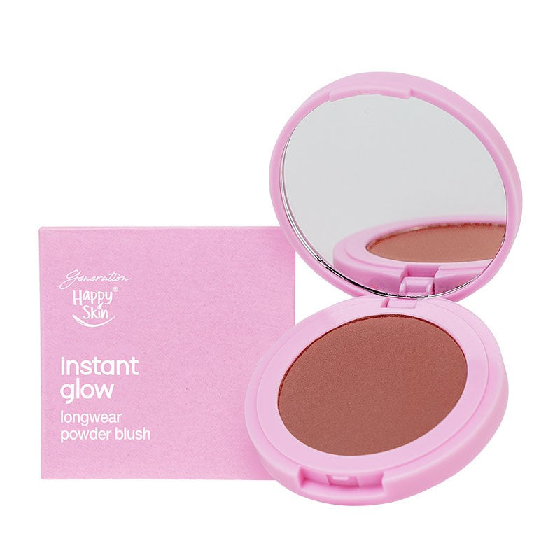 GENERATION HAPPY SKIN INSTANT GLOW LONGWEAR POWDER BLUSH FREEDOM