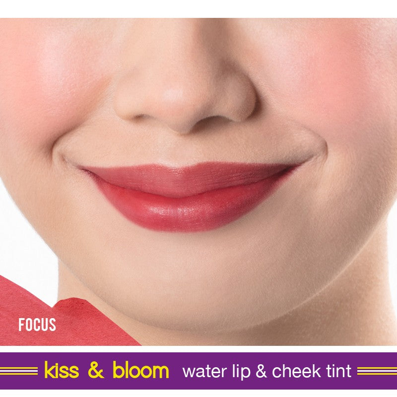 GENERATION HAPPY SKIN KISS & BLOOM WATER LIP & CHEEK TINT FOCUS