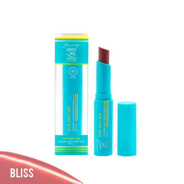 GHS ACTIVE LOVE YOUR LIPS INTENSE COLOR BALM-BLISS