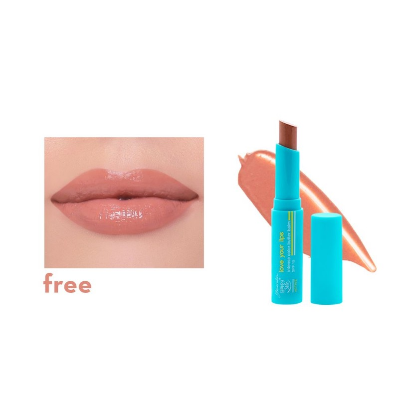GHS ACTIVE LOVE YOUR LIPS INTENSE COLOR BALM-FREE