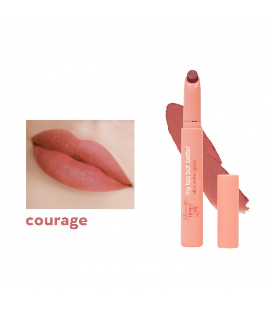 GENERATION HAPPY SKIN MY LIPS BUT BETTER ULTRA MATTE LIPPIE COURAGE
