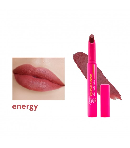 GENERATION HAPPY SKIN MY LIPS BUT BETTER ULTRA MATTE LIPPIE ENERGY