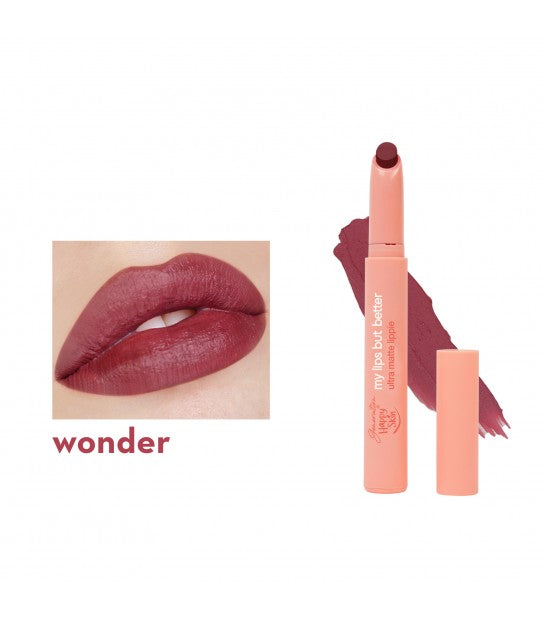 GENERATION HAPPY SKIN MY LIPS BUT BETTER ULTRA MATTE LIPPIE WONDER