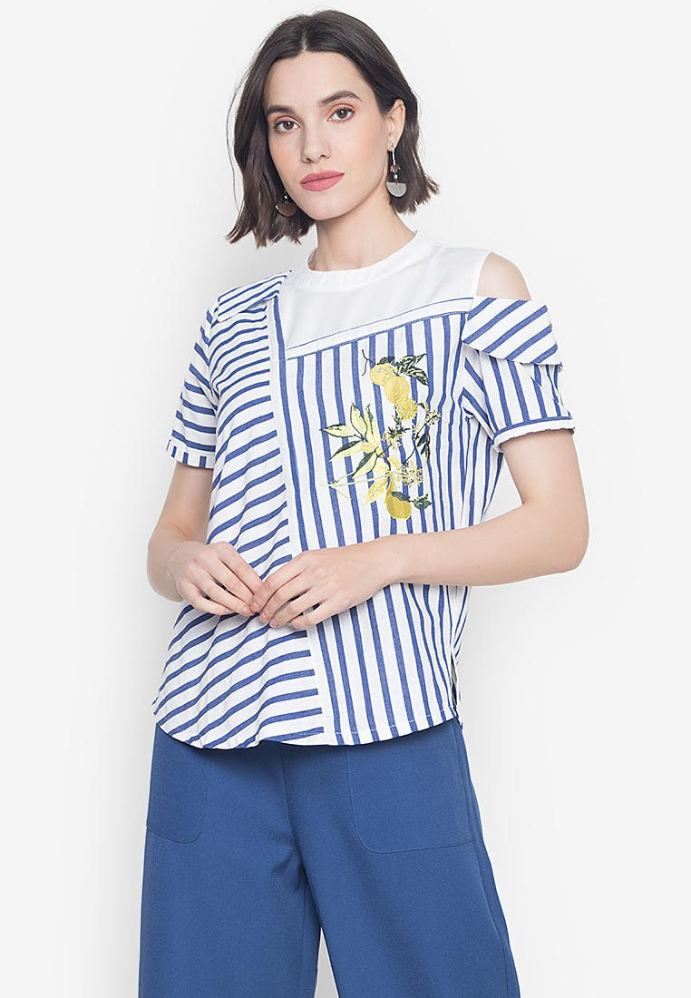 SPRING HARVEST SERAFIM SHORT SLEEVES TOP