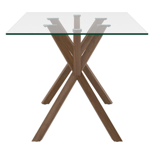 Saba Dining Table - Walnut
