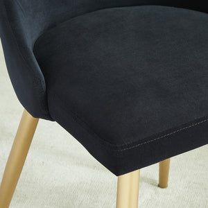 Cairo Dining Chair, Set of 2 - Black