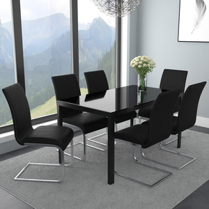 Arista/Maalik 7pc Dining Set