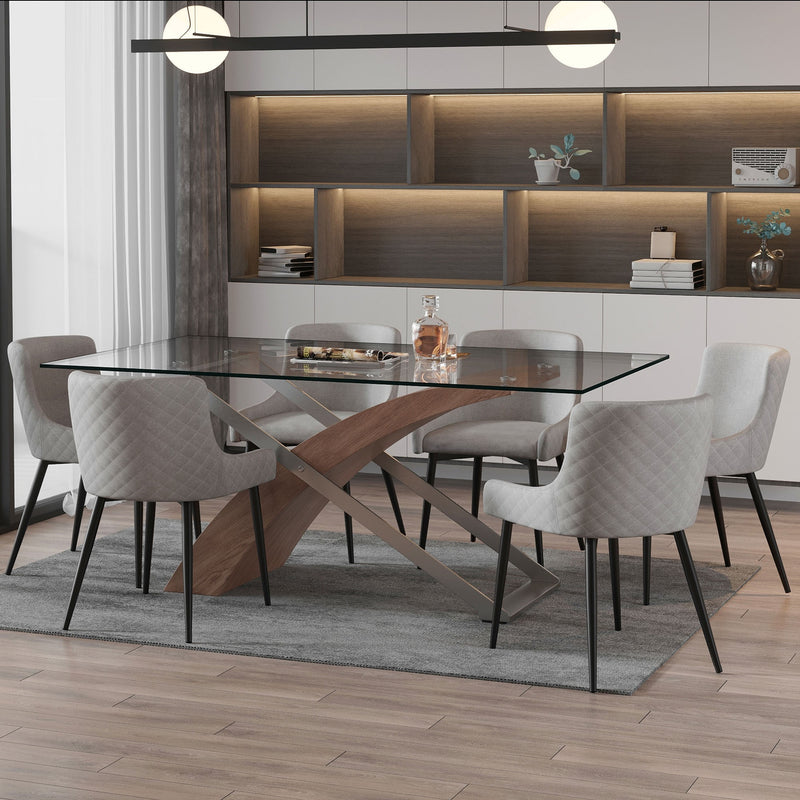 Valene/Balin 7pc Dining Set