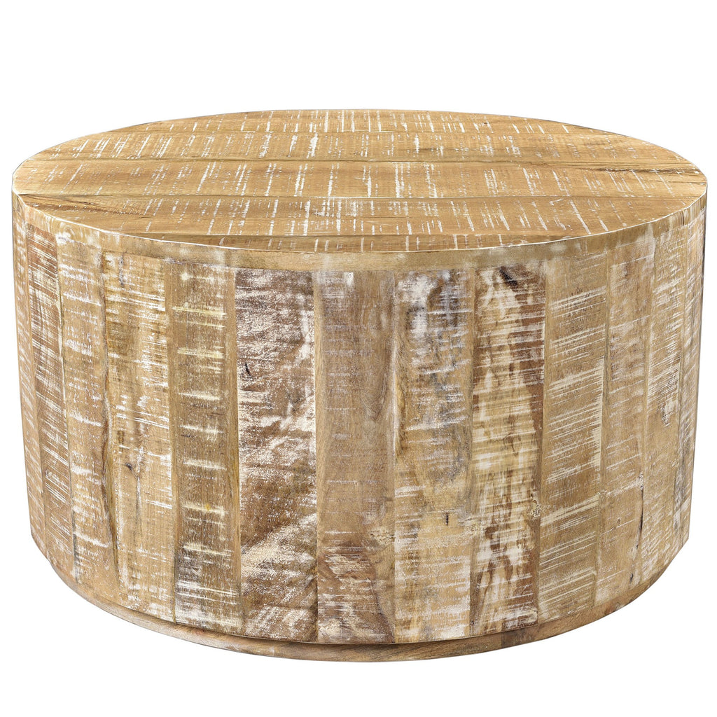 Edwin Coffee Table - Distressed Natural