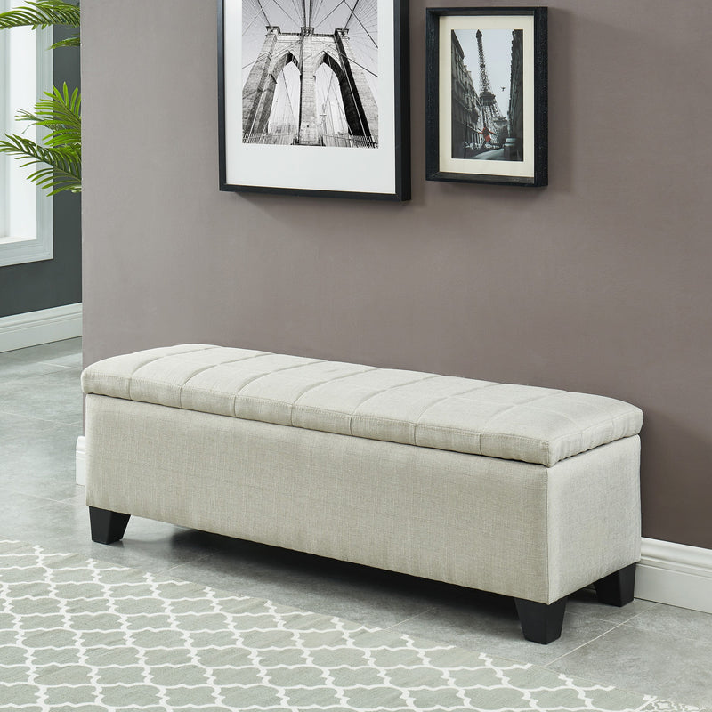 Madra Rectangular Storage Ottoman