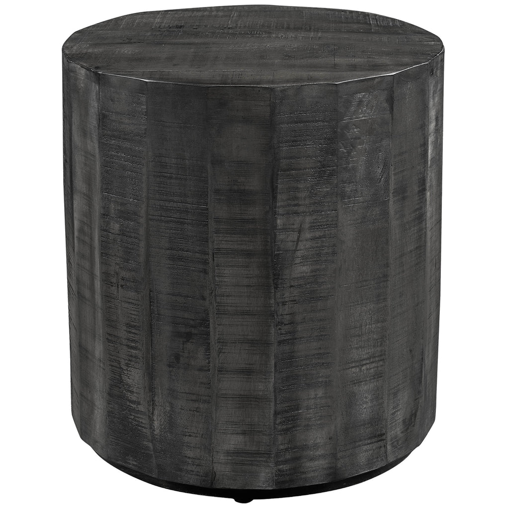 Edwin Accent Table - Distressed Grey
