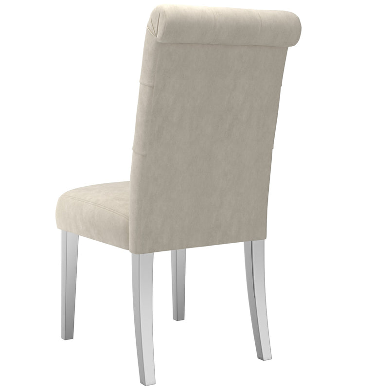 Candace Dining Chair, Set of 2 - Beige