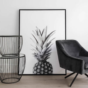 "Canvas Wall Art - Pineapple (55"" x 39"")"