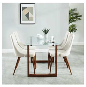 Fadia/Cali 5pc Dining Set
