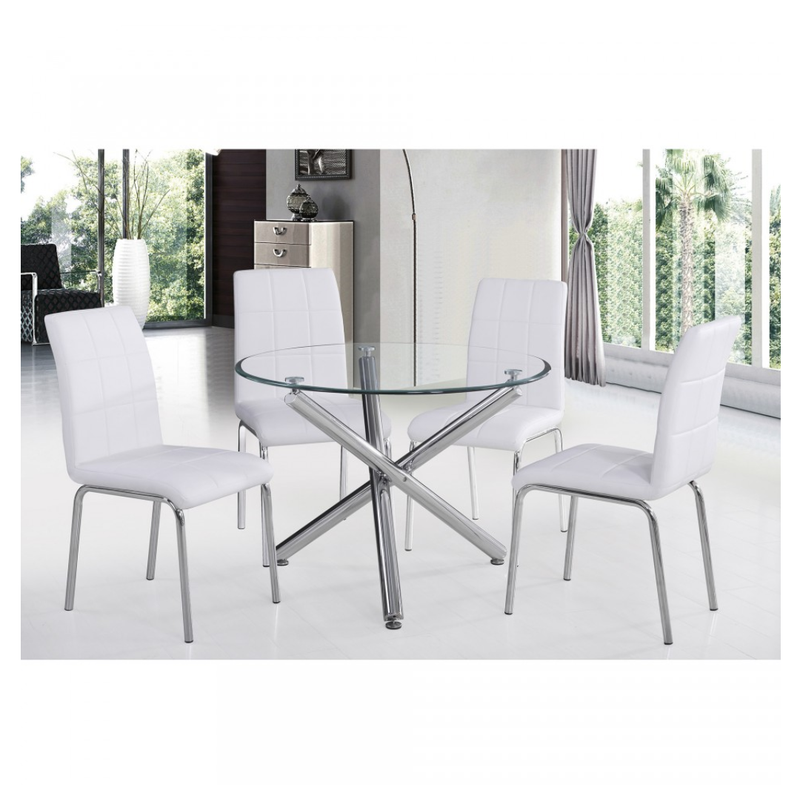 Demia 5pc Dining Set