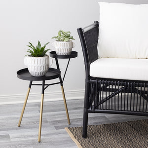 Ebrill Rattan Chair with Cushions