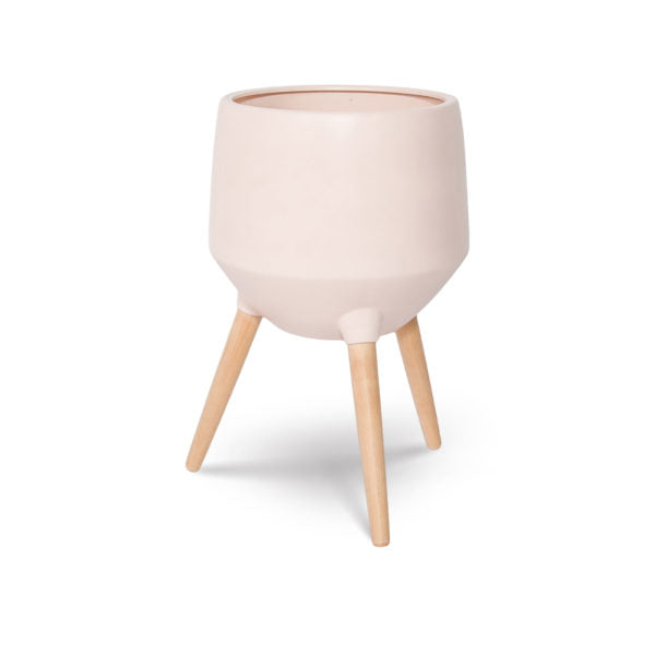 Cahya Base Planter - Soft Pink