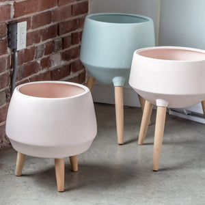Cahya Pot Planter - Soft Pink
