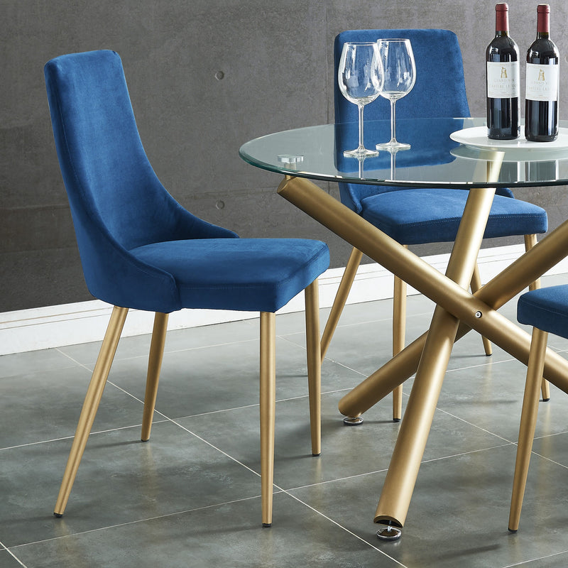 Cairo Dining Chair, Set of 2 - Blue