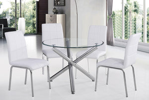 Demia Dining Chair, Set of 4 - White