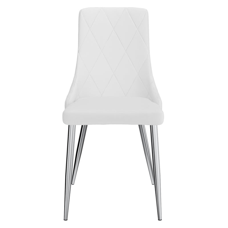 Devin Dining Chair, Set of 2 - White