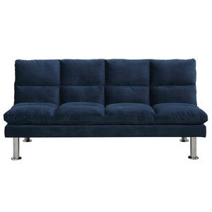 Echo Convertible Sofa - Dark Blue