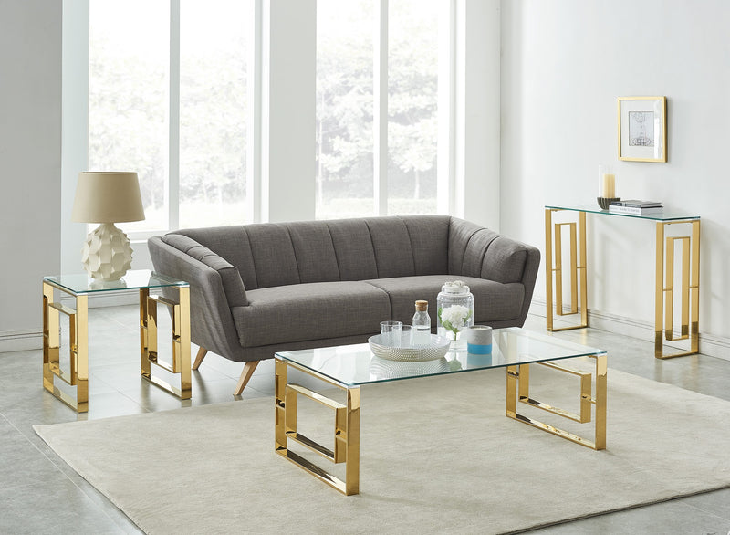 Edda Coffee Table - Gold