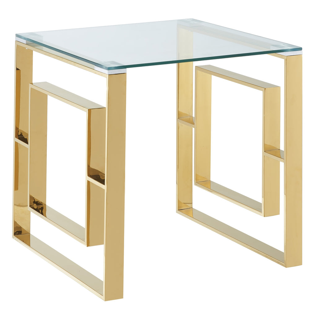 Edda Accent Table - Gold