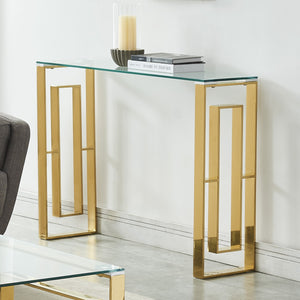 Edda Console Table - Gold