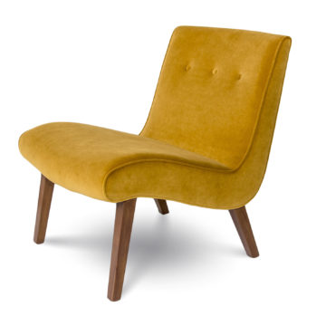 Fauna Accent Chair - Mustard