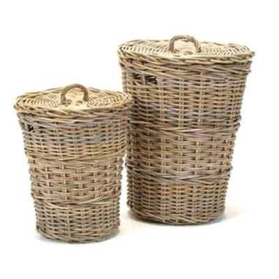 Hachiro Laundry Baskets, Set of 2
