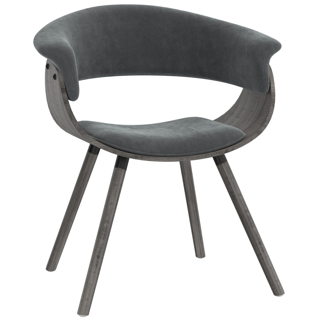Harper Accent/Dining Chair - Grey Velvet