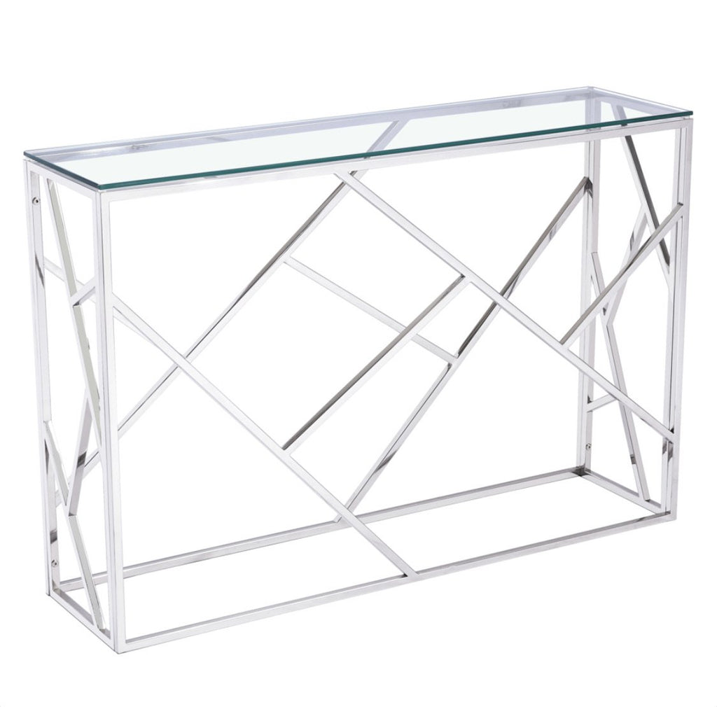 Lauren Console Table - Silver