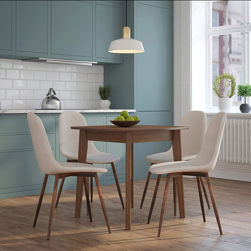 Ajax/Lacole 5pc Dining Set