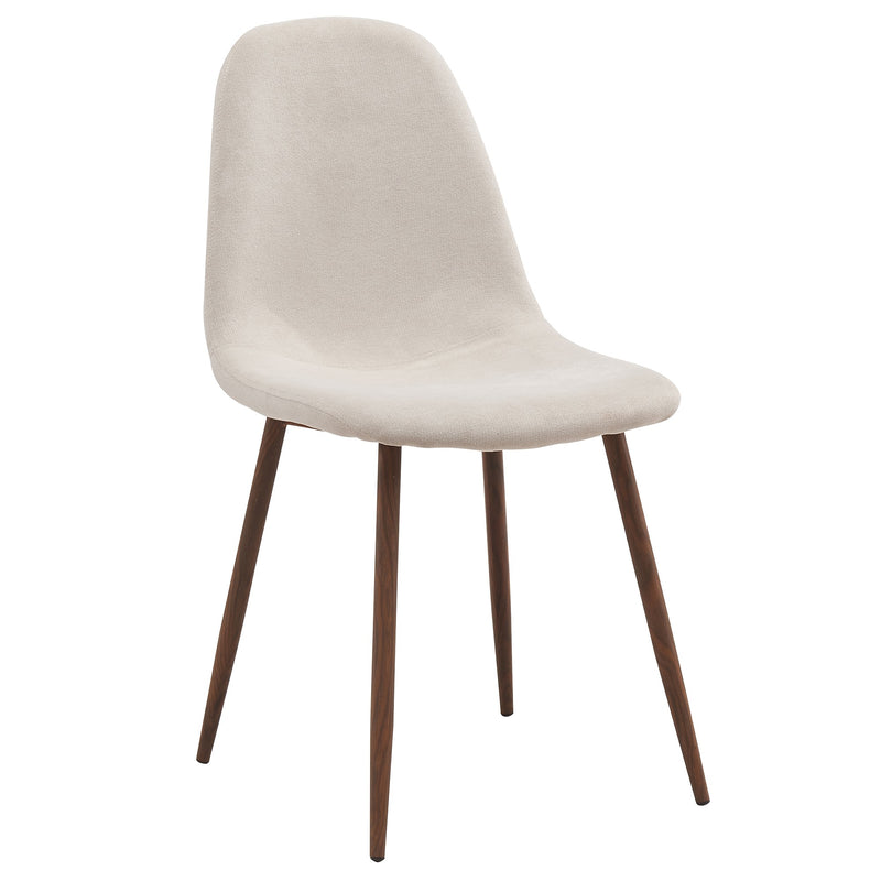 Lacole Dining Chair, Set of 4 - Beige