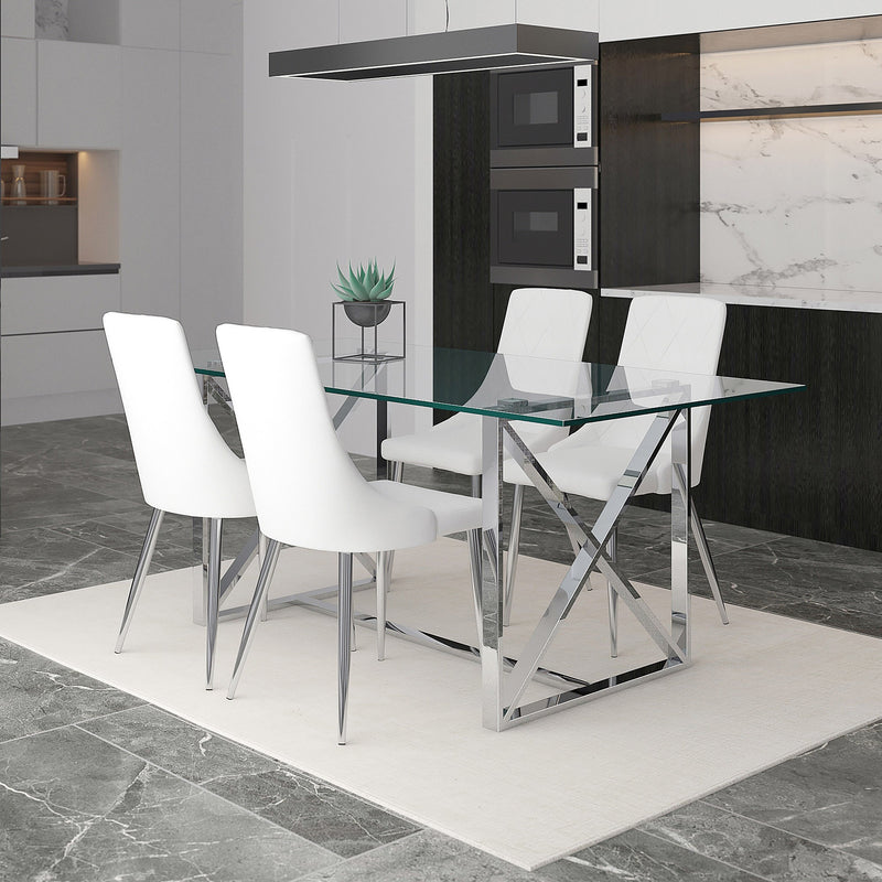 Laina/Devin 5pc Dining Set