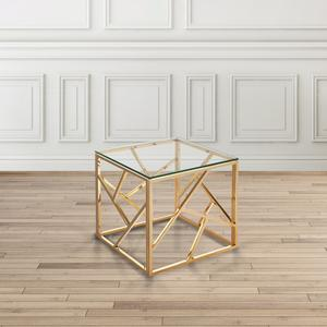 Lauren Accent Table - Gold