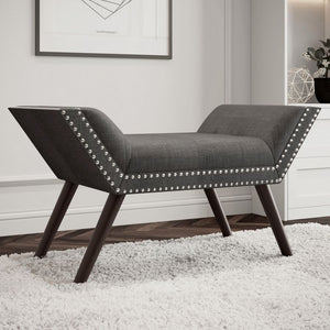 Lavina Bench - Grey