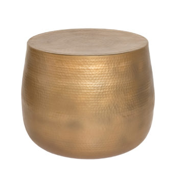 Nahilla Accent Table - Gold