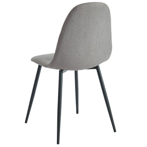 Oda Dining Chair, Set of 4 - Grey