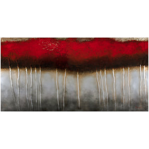 "Red Woods Artwork (60"" x 30"")"