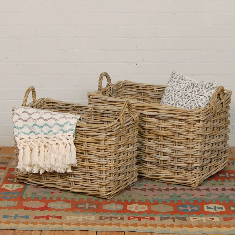 Raanan Storage Baskets, Set of 2
