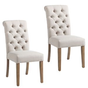 Rada Dining Chair, Set of 2 - Beige