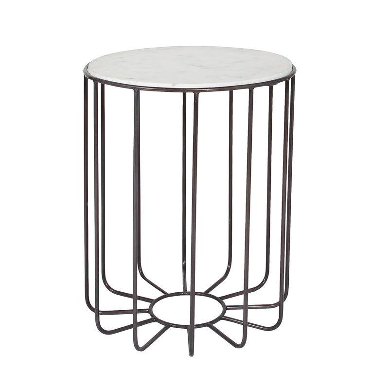 Roma Marble Accent Table