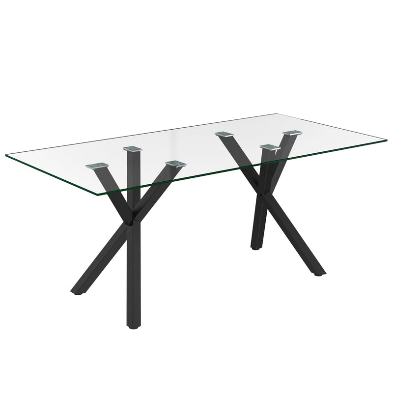 Saba Dining Table - Black
