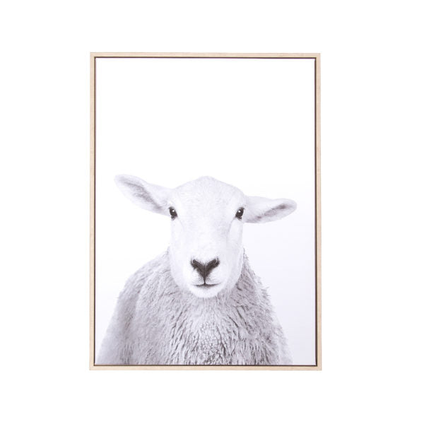 "Canvas Wall Art - Sheep (28"" x 20"")"