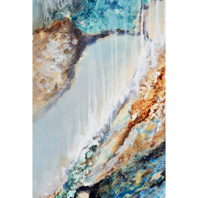 "Waterfall Artwork (60"" x 20"")"
